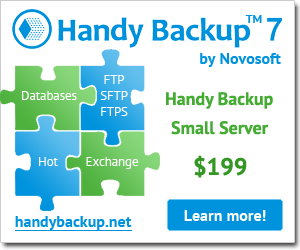 Handy Backup Small Server 7 download