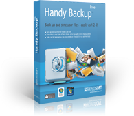 Handy Backup Free for Cloud - бесплатная версия для бэкапа файлов на облака