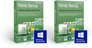 Handy Backup Office Expert и Server Network