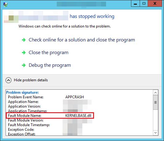 Recovering Damaged File kernelbase dll