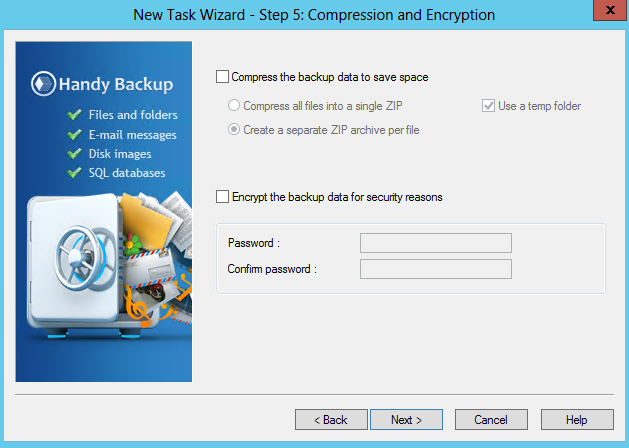 Secure Backups with BlowFish Encryption