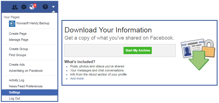 Facebook Backup Software