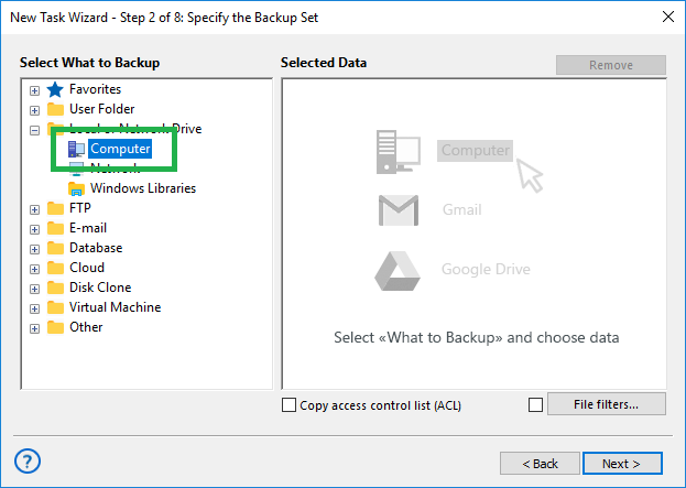 Application Backup Software For Windows Pc