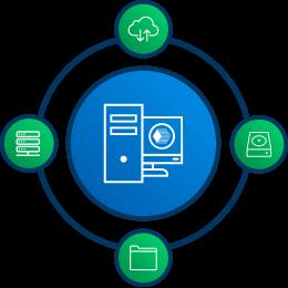 Инкрементальное резервное копирвоание на FTP, SFTP, облачные хранилища и внешние диски