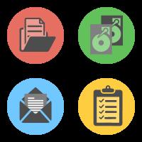 Выбор любых данных, образ диска, обработка бизнес-данных