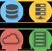 копирование баз, FTP, SFTP, FTPS, облачные хранилища, работа с приложениями серверов