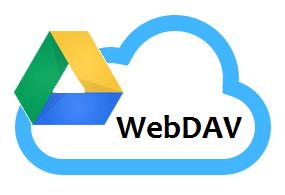 Google Drive WebDAV Backup and Sync