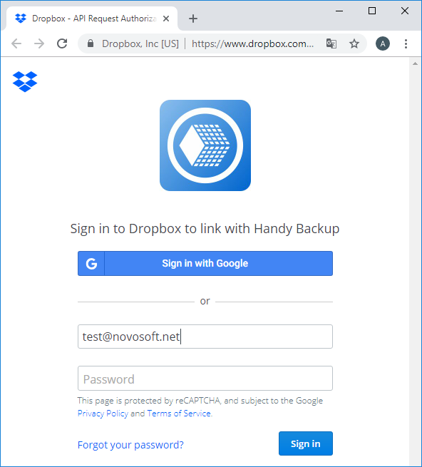 how to connect ftp to dropbox