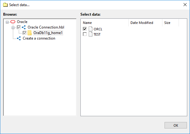 Select Oracle Data