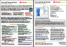 Handy Backup Datasheet Preview