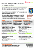 Handy Backup Home Standard Datasheet Preview