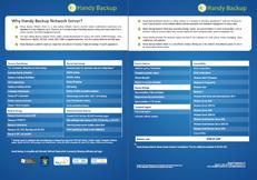 Handy Backup Network Server Datasheet Preview
