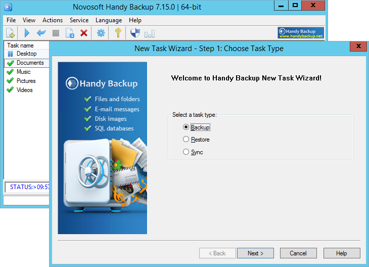 Handy Backup Home Standard 7.15.0