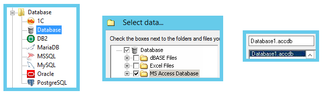 How to Backup Database in Access: Select MS Access Database and Find Database File